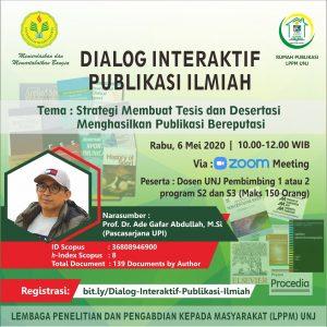 Dialog Interaktif Publikasi Ilmiah
