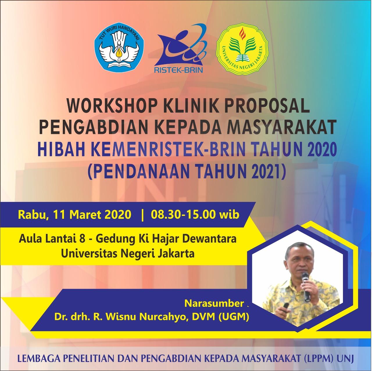 Workshop Klinik Proposal Pengabdian Kepada Masyarakat