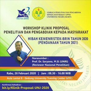 Workshop Klinik Proposal Penelitian dan Pengabdian