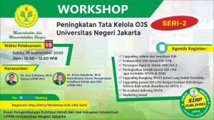 Workshop Peningkatan Tata Kelola OJS UNJ